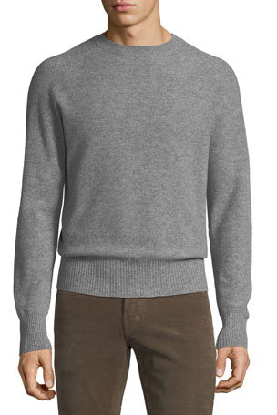 TOM FORD Men's Seamless 12-Gauge Light Cashmere Sweater