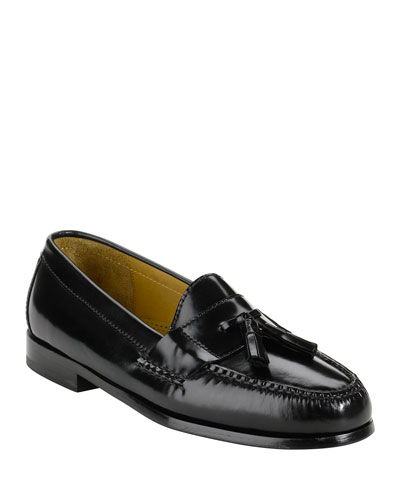 Men's Pinch Tassel Penny Loafers