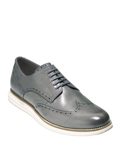 Men's Original Grand Leather Wing-Tip Oxfords