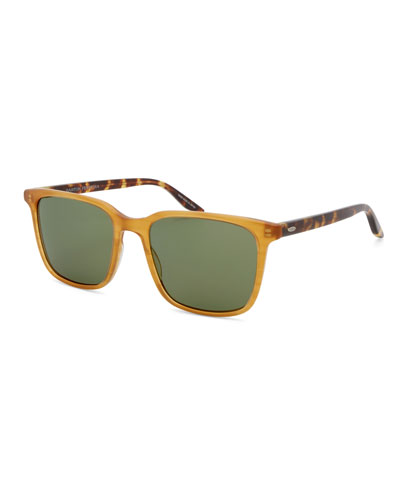 Men's Heptone Oversized Acetate Sunglasses