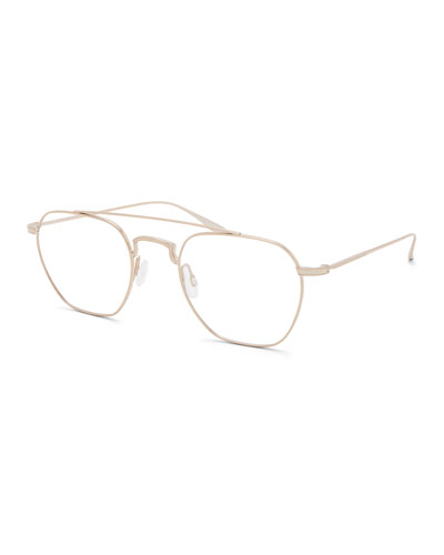 Men's Doyen Titanium Aviator Glasses