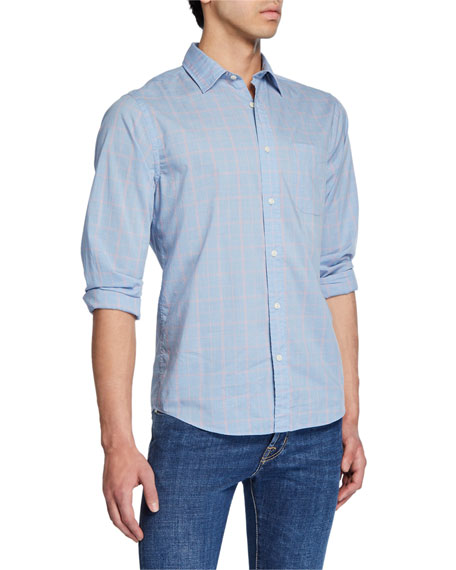 Faherty Men's Ventura Check Cotton Sport Shirt with