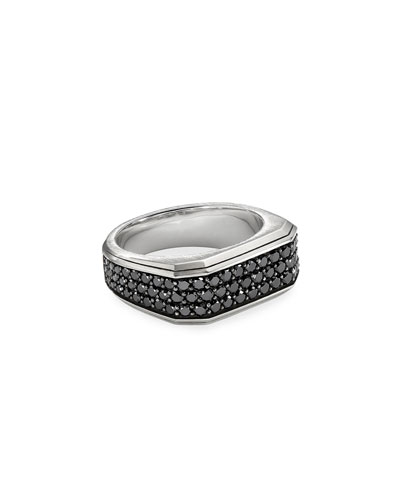 Men's Wide Roman Signet Ring