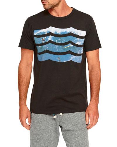 Men's Cowabunga Waves Graphic T-Shirt