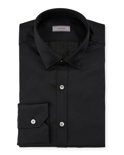 Men's Slim-Fit Serge Metallic Dress Shirt