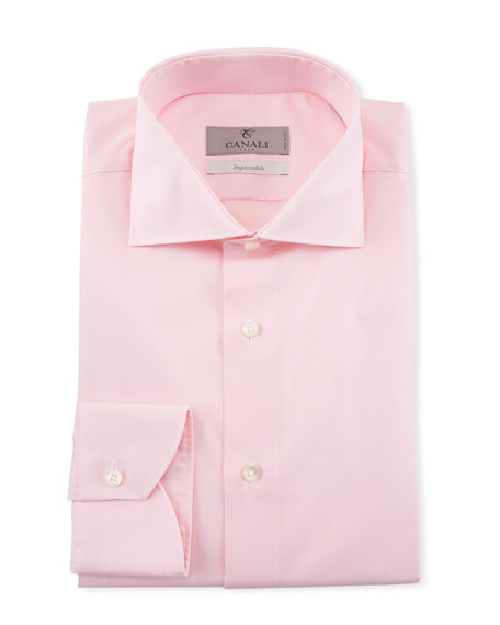 Canali Men's Cotton Dress Shirt