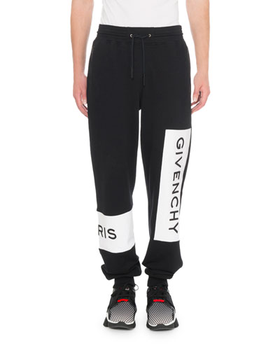 Men's Jogging Pants With Embroidery