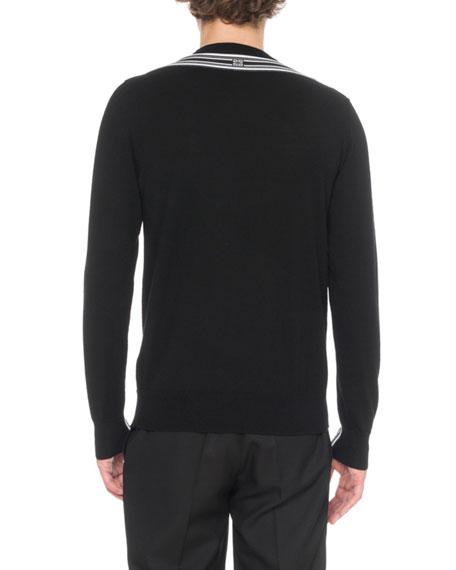 GIVENCHY Shirts MEN'S CONTRAST BICOLOR SHIRT