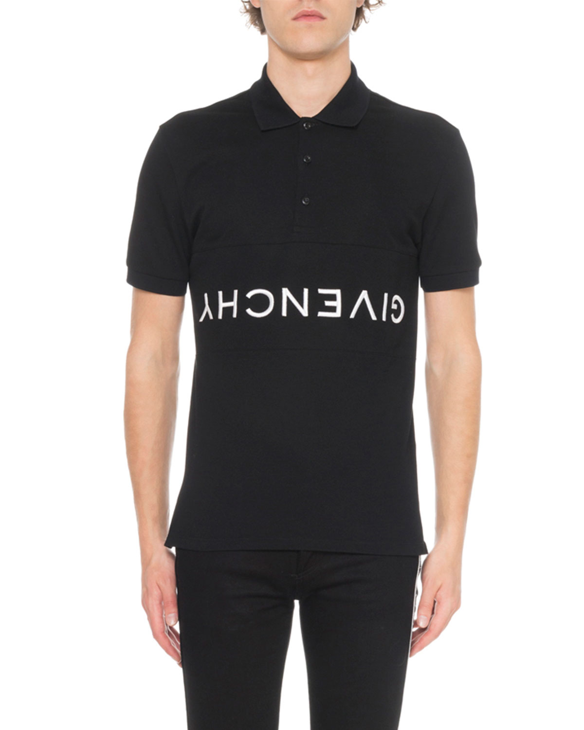 Givenchy Mens Slim Fit Polo Shirt Neiman Marcus