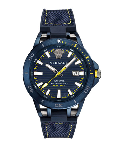 Men's Sport Tech Diver Watch  Blue