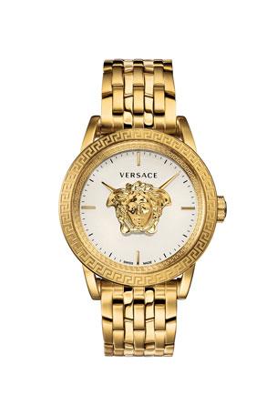 Versace Men's 43mm Palazzo Empire Watch, Gold
