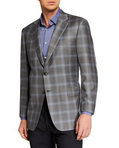 Men's Plaid Sportcoat