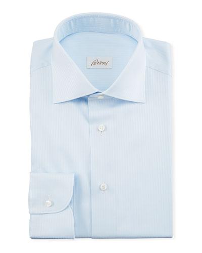 Men's Herringbone Dress Shirt