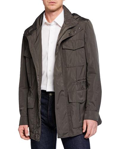Men's Silken Safari Jacket