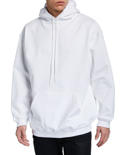Men's Crown-Logo Back Pullover Hoodie