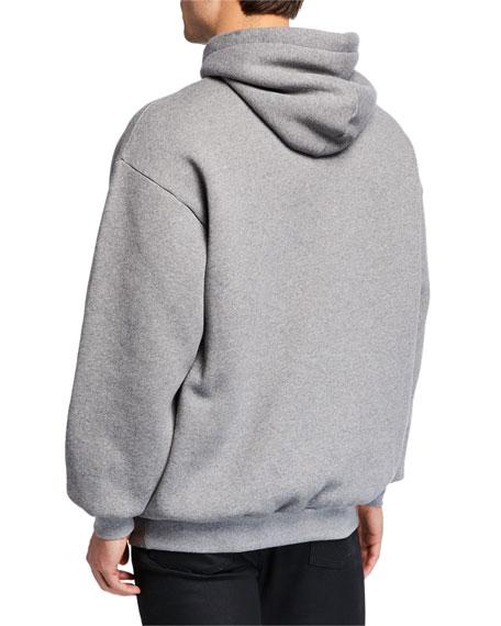 Balenciaga Men's Logo-Front Pullover Hoodie