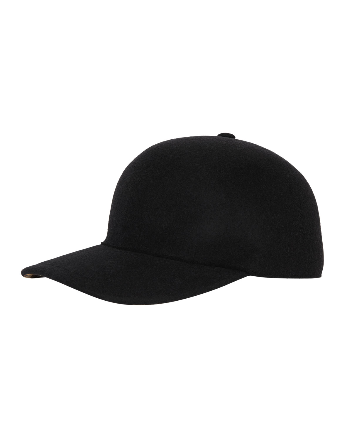 Burberry Men s Molded Wool Baseball Cap  fb785fd7da0