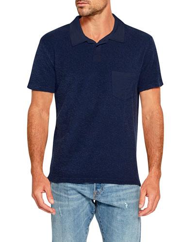 Men's Loop Terry Polo Shirt