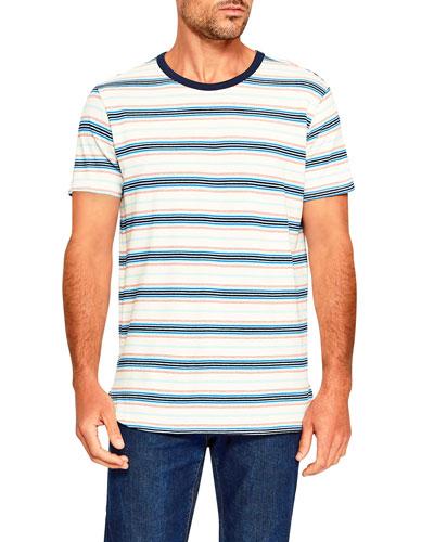 Men's Ringer Retro-Stripe T-Shirt