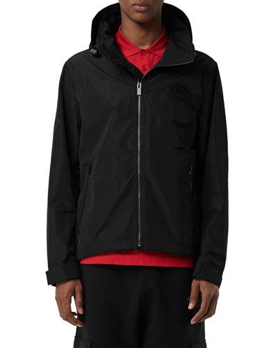 Men's Robinson Hooded Zip-Front Coat