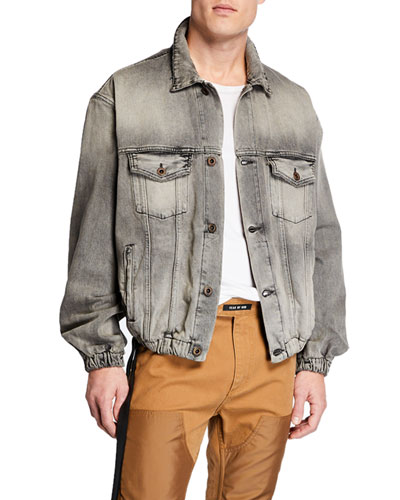 Men's Oversized Denim Jacket