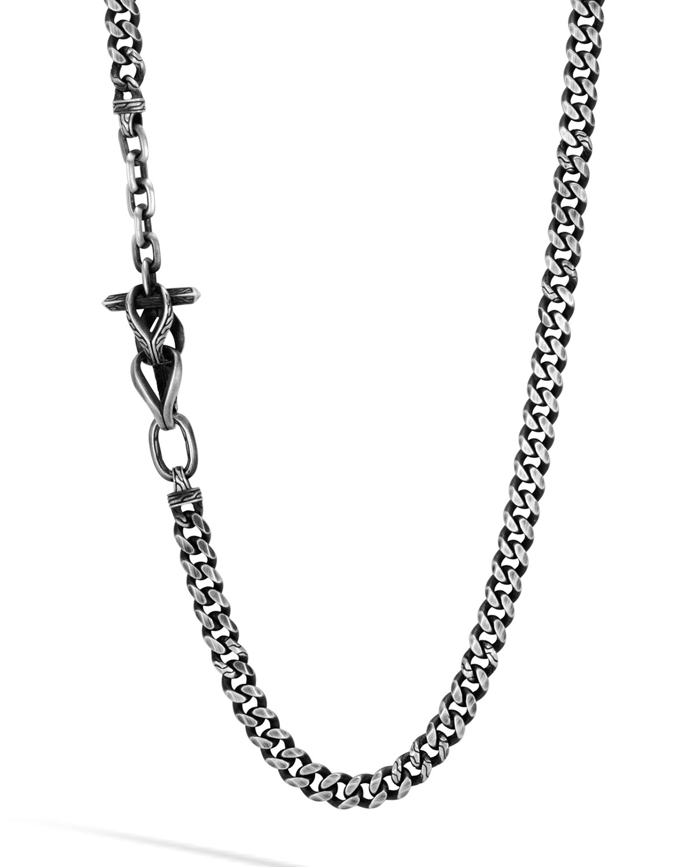 John Hardy Men's Classic Chain Necklace w/ Pusher Clasp