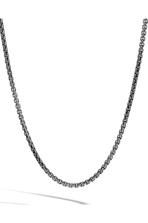 John Hardy Men's Classic Chain 7mm Box Chain Necklace