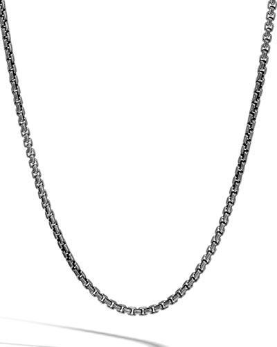 Men's Classic Chain 7mm Box Chain Necklace