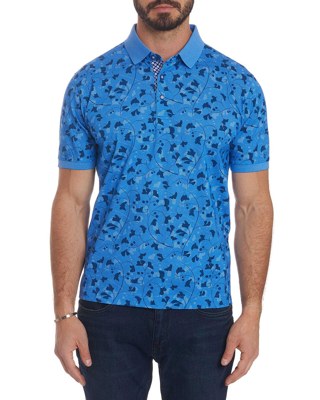 cc79618b1a14 Robert Graham Men s Ginkgo Polo Shirt