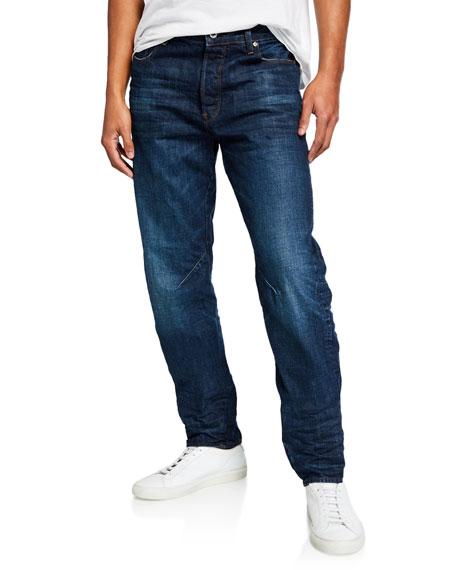 G-Star Men's Arc Relaxed-Fit Tapered Higo Denim Jeans