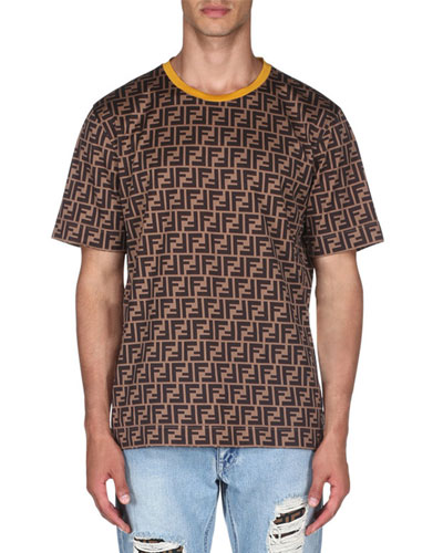Men's Allover Print Short-Sleeve T-Shirt