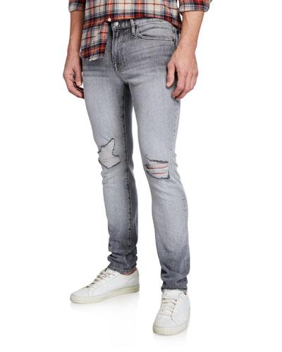Men's L'Homme Skinny Jeans