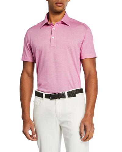 Men's Berry Knit Short-Sleeve Shirt