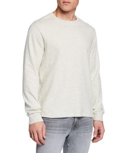 Men's Long-Sleeve Crewneck T-Shirt