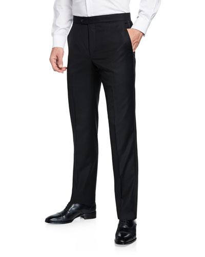Men's Formal Tasmanian Solid Trousers