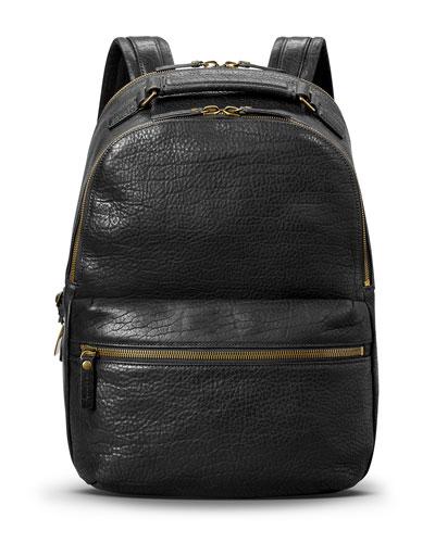 Men's Runwell Bison Leather Backpack