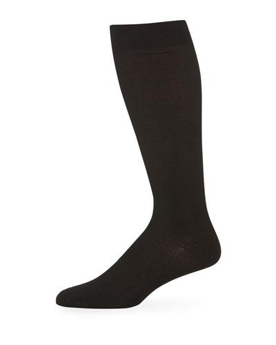 Men's Basic Socks, Black