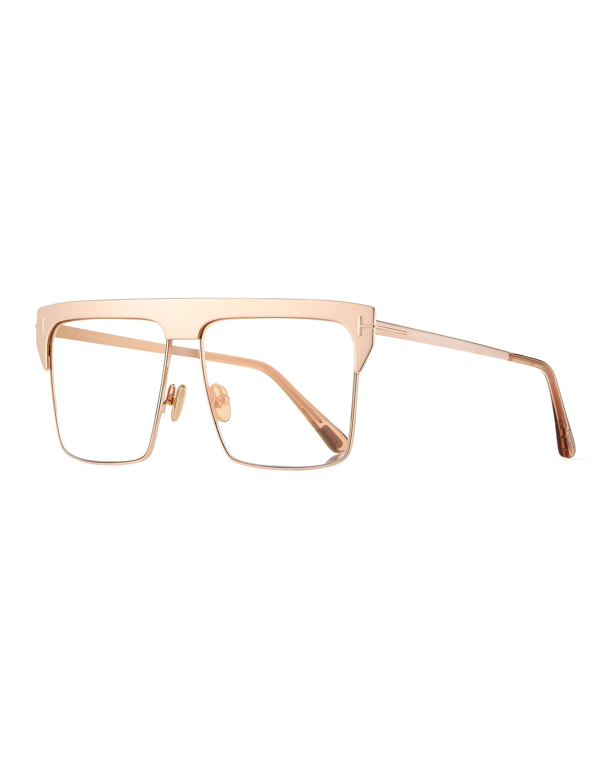 2886dc993fc3 TOM FORD Men s West Two-Tone Mirrored Square Sunglasses