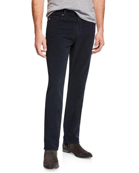 AG Adriano Goldschmied Men's Everett Slim-Straight Twill Pants,