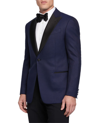 Men's Micro Interlock Tuxedo/Dinner Jacket