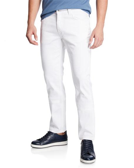 Emporio Armani Men's Stretch-Cotton 5-Pocket Pants