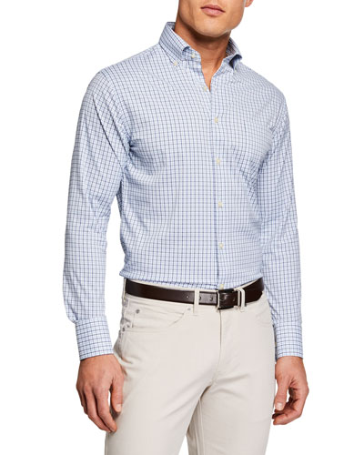 Men's Long Sleeve Performance Woven Shirt