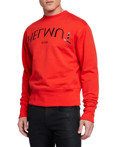 Men's Hack Logo Crewneck Sweatshirt