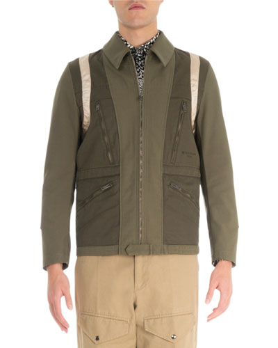 Men's S19 Military Short Parka