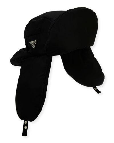Men's Nylon Aviator Hat