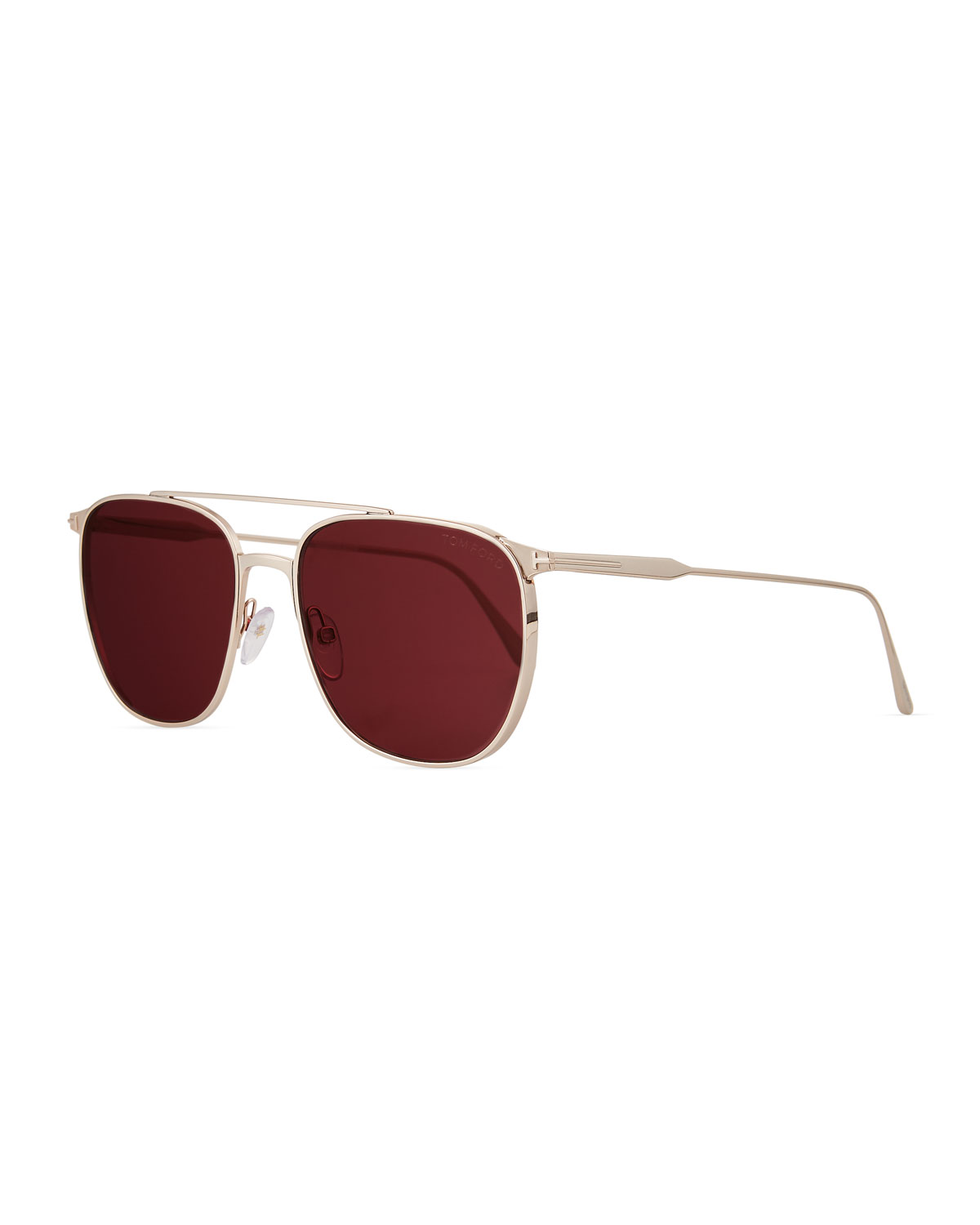 dfe2af56879a TOM FORD Men s Kip Square Metal Sunglasses