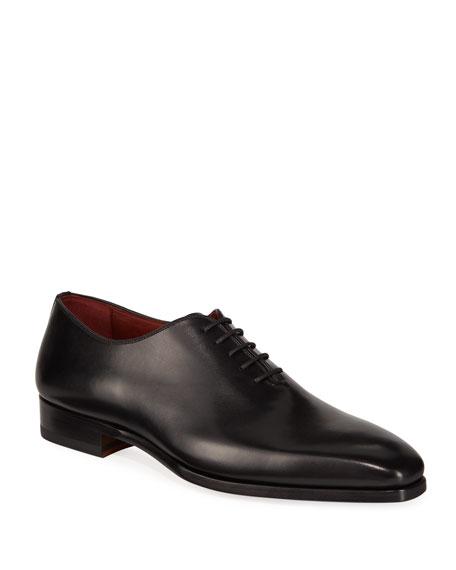 Neiman Marcus Shoes MEN'S BOL ARCADE LEATHER DRESS SHOES