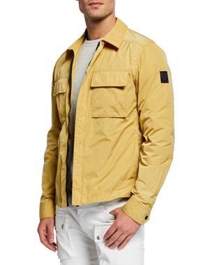 481f54289645 Belstaff Men s Ollerton Pocket Shirt Jacket