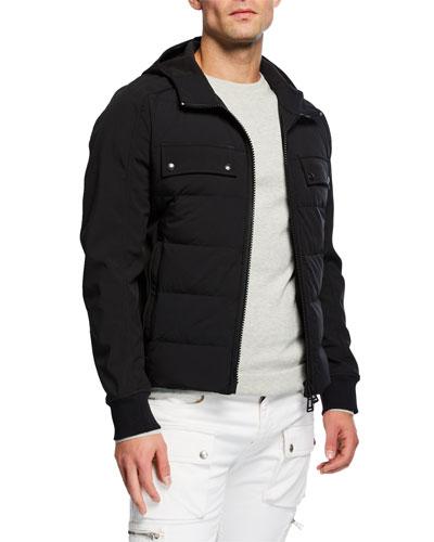 Men's Harlyn Hooded Down Jacket