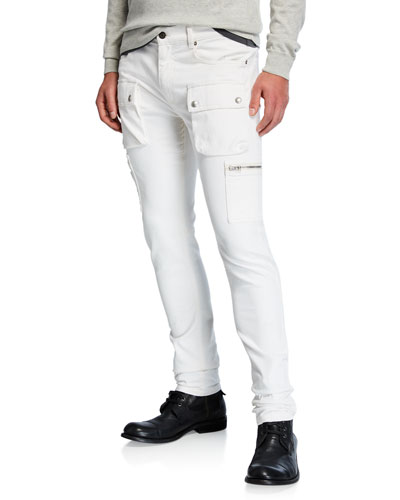 Men's Fremont Skinny Denim Cargo Pants
